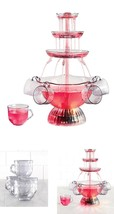 NEW! Nostalgia Party Fountain Collection LED lighted - £36.04 GBP