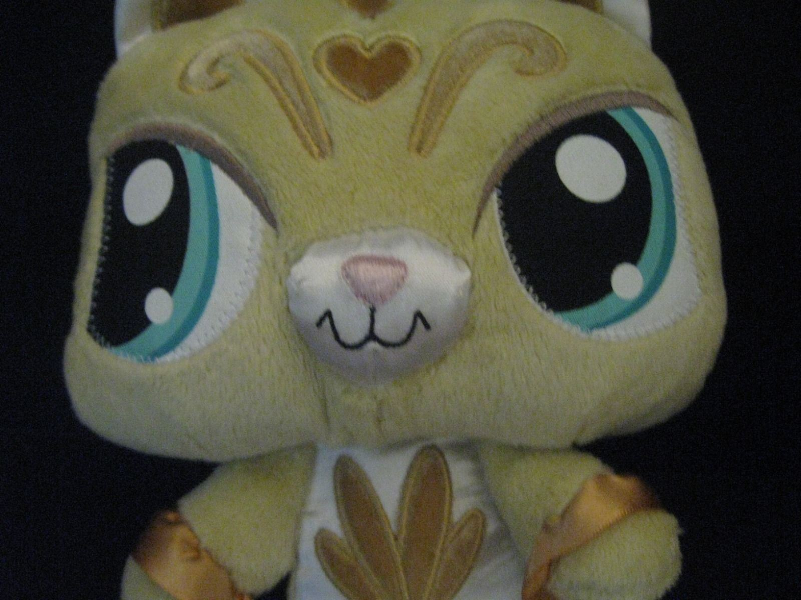 "Primary image for Littlest Pet Shop LPS Stuffed Plush Yellow Sassiest Kitty  9"" (22.8 cm) 2008"