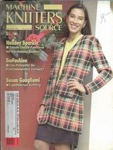 Machine Knitters Source Nov Dec 1995 Magazine Holiday Sparkle EcoFashion - $5.99