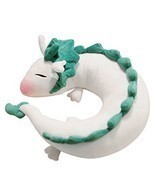 LOHOME Dragon Plush Doll Toy Pillow - Anime Cute White Dragon Neck U-Sha... - $570,15 MXN