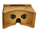 DIY Cardboard VR Virtual Reality 3D Viewing Glasses For 3.5-6.2 Cellphone