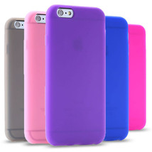 6s Plus Ultra Soft Silicone Cover For Iphone 6 Plus/ 6s Plus 5.5Back Pho... - $13.48