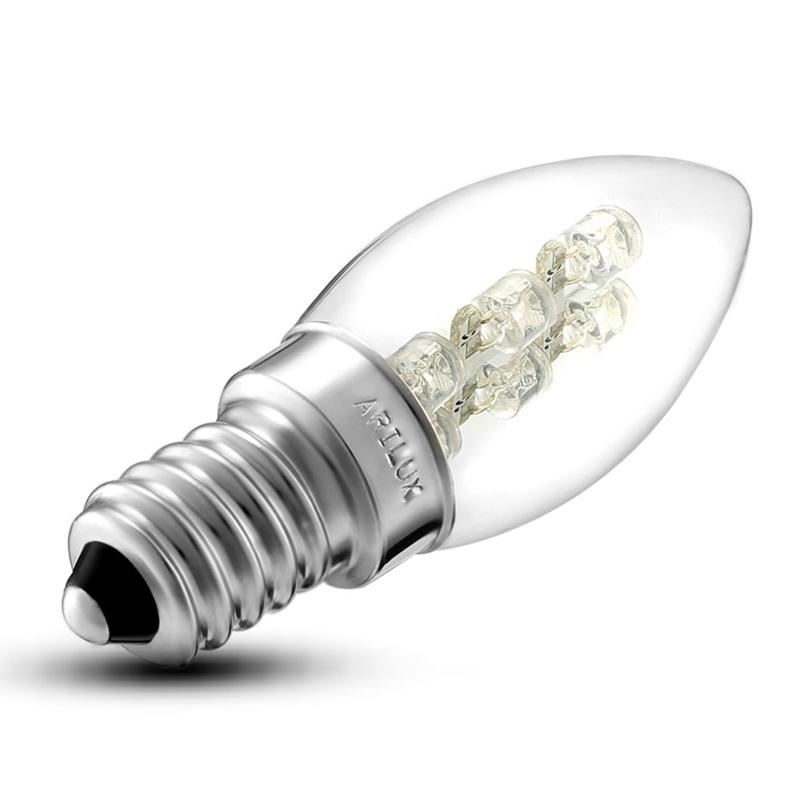 Used, Mini E12/E14 0.5W 6 LEDS Candle Lamp Bulb For Night Light Pendant Light Wall Lam for sale  USA