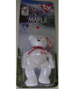 Maple, The Bear Birthdate July 1, 1998, Retired - $6.00