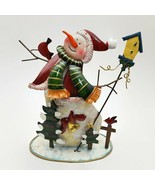 Villeroy & Boch Snowman Holiday Christmas Votive Tea Light Holder  - $27.16