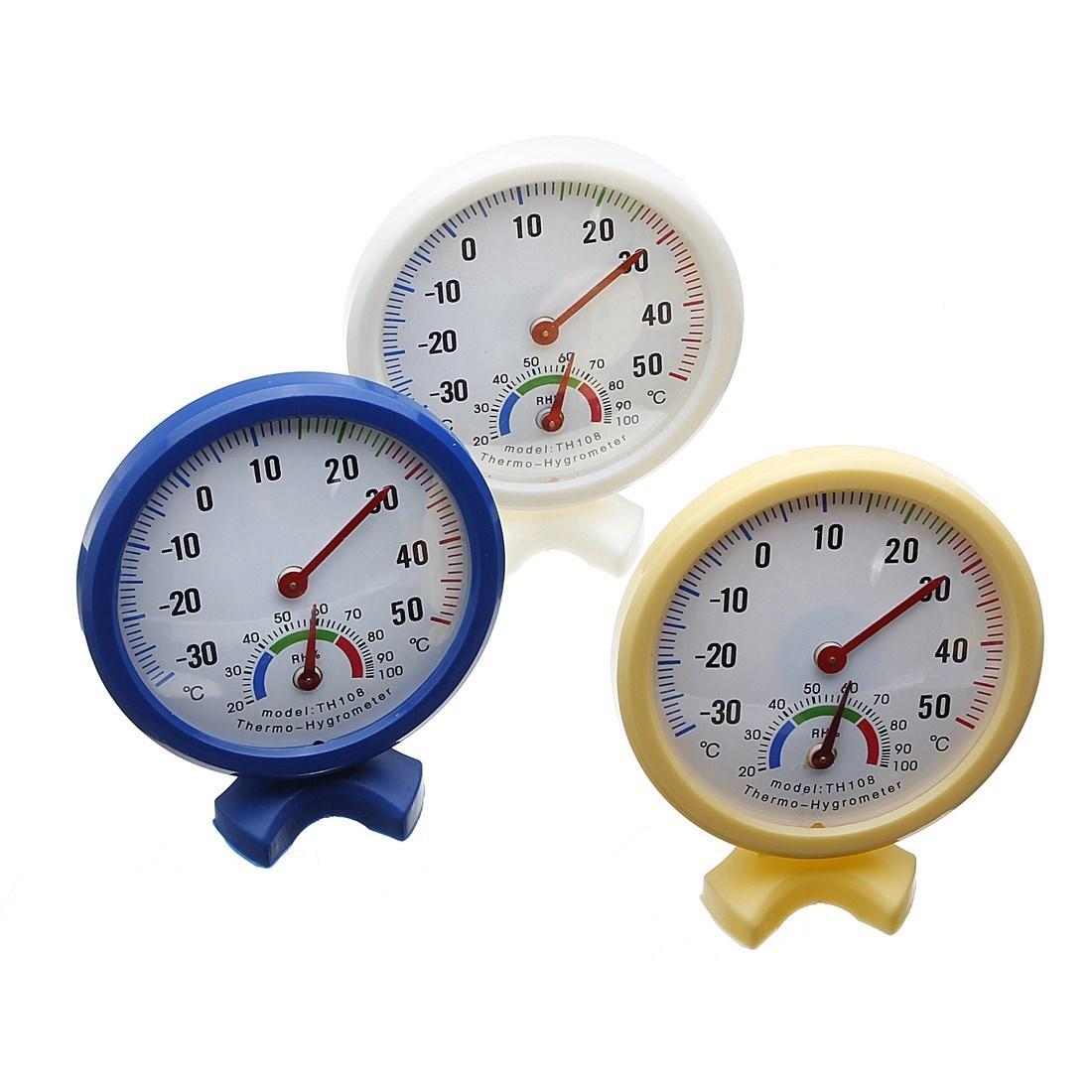 Sale mini indoor outdoor wet hygrometer humidity thermometer temp  #20326C