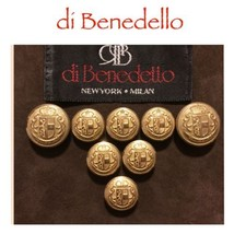 LOT 1468 - 8 Reclaimed di Benedello Designer Go... - $39.59