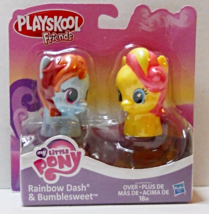My Little Pony Playskool Rainbow Dash and Bumblesweet - $8.95