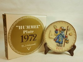 "M.J. Hummel Annual Plate ""HUMMEL"" Plates 1972 with original box  FD487		 - $14.95"