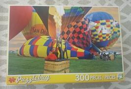 Hot Air Balloon Ballooning 300 Pieces Puzzlebug Jigsaw Puzzle Brand New !!! - $7.69