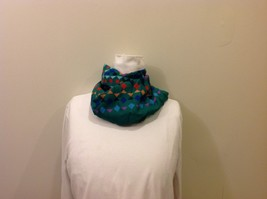 Gina Ruccini Symmetrical Multi-colored Aztec Pattern Scarf image 4