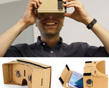 VR BOX Google Cardboard VR DIY Paper 3D Virtual Reality Glasses For IPhone 6 6s