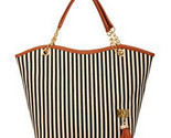 L striped shoulder beach bag women shopping canvas tassel handbag top quality free thumb155 crop