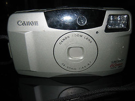 Canon Sure Shot 60 Zoom 35mm Point and Shoot Film Camera - $15.83