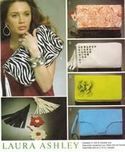 Laura Ashley Lined Evening Clutch Bag Shoulder Strap Purses Sew Pattern Uncut - $12.99