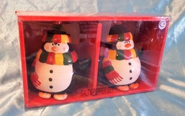 Adorable Pudgy Penguin Salt & Pepper Shakers Ready for the Holidays and ... - $9.85