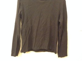 The Limited L 100% Cotton Black Long Sleeve Shirt Good Condition image 3