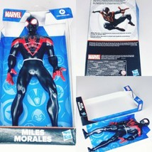 "Marvel Miles Morales Spider-Man 9"" Action Figure 2019 Hasbro Still On Card - $17.95"
