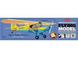 Balsa Wood Flying Model Airplane Guillow's Piper Super Cub 95  GUI-303LC - $27.35
