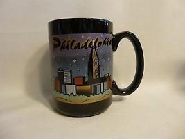 Philadelphia Città di Notte Caffè Tazza Nero - $6.08