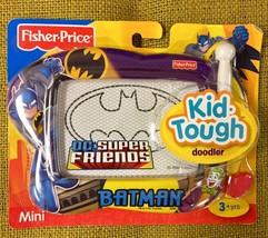 Fisher-Price DC Super Friends Batman Kid -Tough Doodler Mini magnetic dr... - $29.21