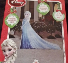 Disney Frozen Elsa Photorealistic Airblown Inflatable Lights Up NEW - $42.00