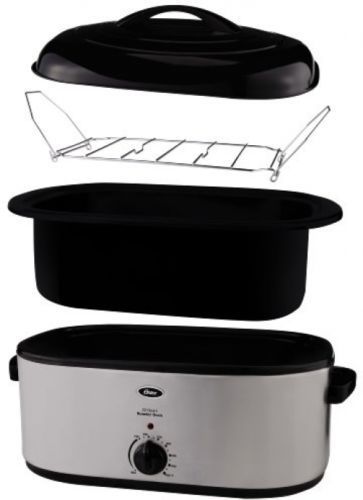 Cooking Oster 22-Quart Roaster Oven Kitchen Self Basting ... Oster 22 Quart Roaster Oven
