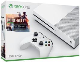 Xbox One S 500GB Console - Battlefield 1 Bundle  - Bundle Edition - $378.26