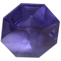 Crystal Octagon Earrings image 5