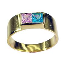bonnie Multi CZ Copper Multi Ring india L-1in U... - $9.99