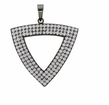 High Quality Shining Jewelry 925 Sterling Cubic Zirconia Stone Pendant SHPN0125 - $46.44