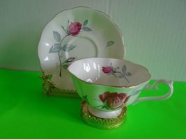 Royal Albert Bone China Pink Rose Tea Cup and Saucer MINT Ship Fast w Tr... - $24.99