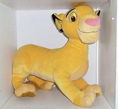 Disney Lion King Simba Plush Toy Stuff Lion 2002 Hasbro  - $79.95