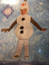 Disney Frozen Olaf Costume Dress Up Small 2T Deluxe Disguise - €15,28 EUR