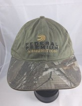 Federal Premium Ammunition Hat Realtree Camo Velcro back light thin - $19.24
