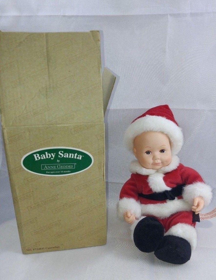African American Baby Santa by Anne Geddes