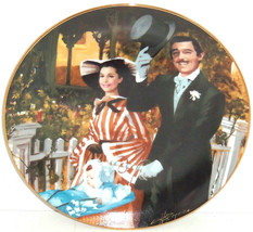 Gone with the Wind Collectors Plate Strolling Atlanta Bradford Exchange ... - $49.95