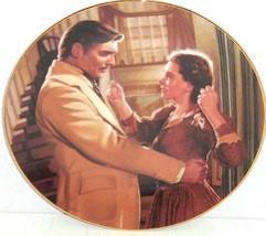 Gone with the Wind Collectors Plate Scarlet's Heart Tara Bradford Exchan... - $59.95