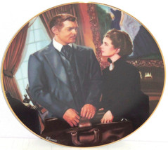 Gone with the Wind Collectors Plate At Cross Purposes Bradford Exchange ... - $59.95