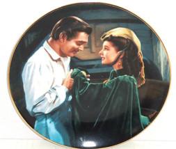 Gone with the Wind Collectors Plate Scarlet Asks Favor Bradford Exchange... - $59.95