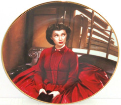 Gone with the Wind Collectors Plate Scarlet Gets Her Way Bradford Exchange - $59.95