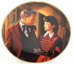 Gone with the Wind Collectors Plate Scarlet Gets Down to Business Bradfo... - $59.95