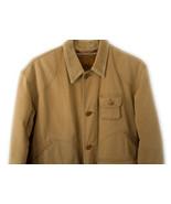 Vtg Polo Ralph Lauren Sportsman Long Wool Lined Cotton Jacket Coat Chest... - $141.57