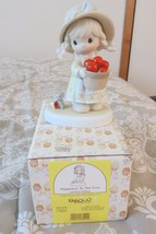 Precious Moments Happiness To The Core,limited edition porcelain figurine - $42.75