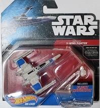 STAR WARS  HOT WHEELS 2014 - X - WING FIGHTER  W/ FLIGHT NAVIGATOR - $7.43