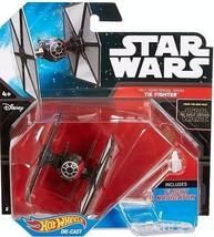 Star Wars Hot Wheels First Order Tie Fighter with Flight Navigator - $7.43