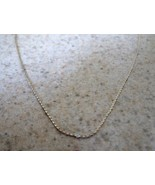 NECKLACE 18 INCH STERLING SILVER CHAIN NEW #T112 - $12.99