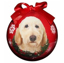 LABRADOODLE (YELLOW) CHRISTMAS BALL ORNAMENT DOG HOLIDAY PET LOVERS GIFT - $10.95