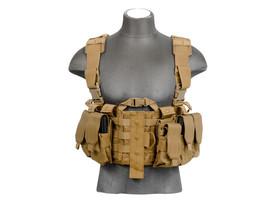Lancer Tactical Adjustable M4 Chest Rig Harness... - $49.99
