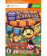 Carnival Games, kinect xbox 360 game Full download card code (digital) - $2.88